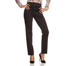 Brax Raphaela by Damen Slim Jeanshose 10-6220, PAMINA, Gr. W36/L30 (Herstellergröße: 46 Kurzgröße), Schwarz (BLACK 2)