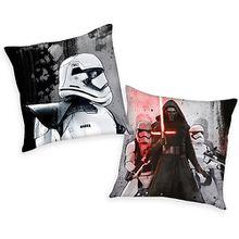 Kuschelkissen Star Wars, schwarz/weiß, 40 x 40 cm