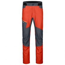 Ortovox - Pala Pants - Kletterhose Gr L;M;S;XL;XXL rot/schwarz