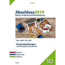Buch - Abschluss 2019 - Klasse 10 Berlin und Brandenburg