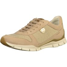 GEOX Sneaker Sneakers Low beige Damen