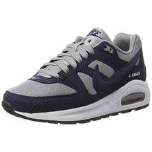 Nike Unisex-Kinder Air Max Command Flex (GS) Sneakers, Grau (Stealth/Midnight Nvy-White-Black), 37.5 EU