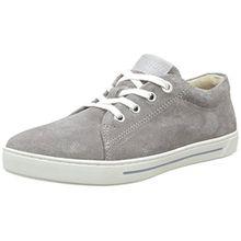 BIRKENSTOCK Unisex-Kinder Arran Sneakers, Grau (Grau), 30 EU