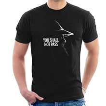 You Shall Not Pass Gandalf Lord Of The Rings Men's T-Shirt