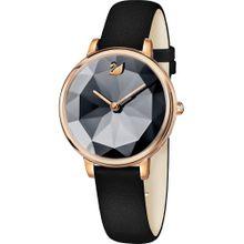 Swarovski Uhr gold / anthrazit / schwarz