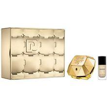Paco Rabanne Damendüfte Lady Million Geschenkset Eau de Parfum Spray 50 ml + Nagellack 9 ml 1 Stk.