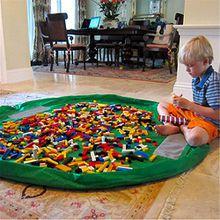 panniuzhe Kinder Play Matte Faltbare Baby Spielzeug Aufbewahrung erhalten Tasche für Home, Outdoor Picknick, Strand Teppich über 152,4cm Grün
