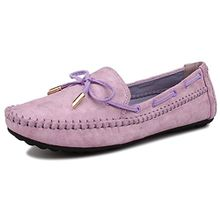 Fangsto  Boat Shoes, Damen Mokassins Violett violett