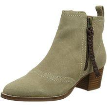 Joe Browns Damen Dakota Suede Ankle Boots Stiefeletten, Beige (Natural A), 38 EU
