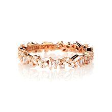 Ring aus 18kt Roségold mit Diamanten