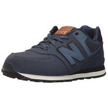 New Balance Unisex-Kinder Sneaker, Blau (Blue/Black), 28.5 EU (10.5 UK Child)