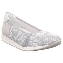 ara Damen 08 Geschlossene Ballerinas, Grau (Camu-Silber, Silber), 40 EU