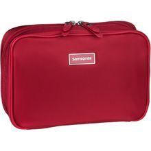 Samsonite Kulturbeutel / Beauty Case Karissa Cosmetic Weekender Formula Red