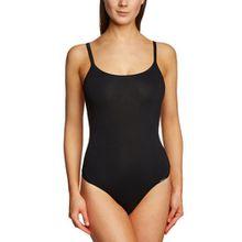 Skiny Damen Bodys Body Collection Stringbody, Gr. 36, Schwarz (7662 BLACK)