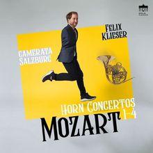Audio CD »Wolfgang Amadeus Mozart: Mozart:Complete Horn...«