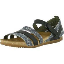 EL NATURALISTA Komfort-Sandalen schwarz-kombi Damen