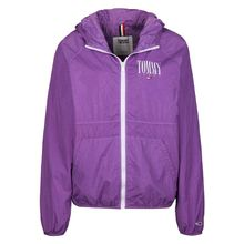 Tommy Jeans Windbreaker Garment Dye W Regenjacken lila Damen