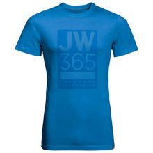 Jack Wolfskin - 365 T - T-Shirt Gr L;M;S;XL;XXL schwarz;rot;blau