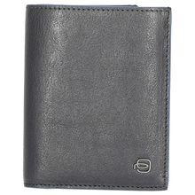 Piquadro B2S Herrenbrieftasche im Hochformat 12.5 cm blau Herren