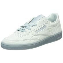 Reebok Damen Club C 85 Lace Sneaker, Grau (Seaside Grey/White), 39 EU