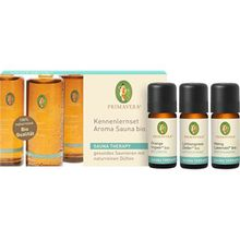 Primavera Health & Wellness Sauna Therapy Kennenlernset Aroma Sauna Orange Ingwer Bio 10 ml + Aroma Sauna Lemongrass Zeder Bio 10 ml + Aroma Sauna Honig Lavendel 10 ml 1 Stk.