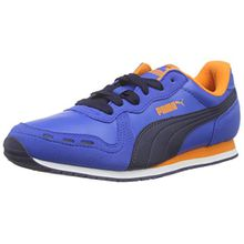 Puma Cabana Racer SL Jr, Unisex-Kinder Sneakers, Blau Royal-Peacoat 36, 37.5 EU (4.5 Kinder UK)