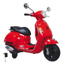 XXXL KINDERMOTORRAD Ride-on Vespa GTS, Rot