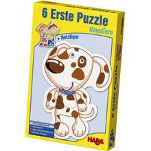HABA 6 erste Puzzles mit Holzfigur