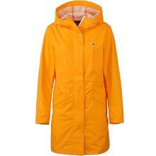 Tommy Jeans Regenjacke Regenjacken gelb Damen