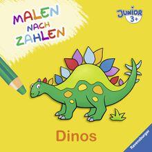 Ravensburger Malen nach Zahlen junior: Dinos