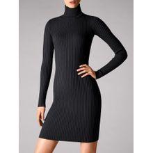 Merino Rib Dress - 8598 - L
