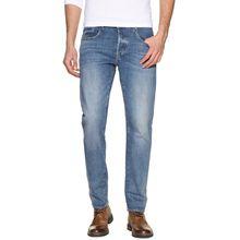 G-Star 3301 Slim Jeans in blau für Herren