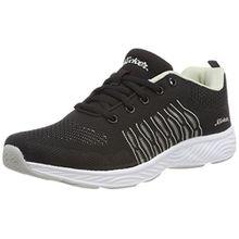 Rieker Damen N9200 Sneaker, Schwarz (Schwarz-Grau), 40 EU