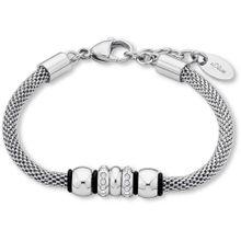 S.Oliver RED LABEL Armband mit Swarovski® Kristallen, »SO1442/1« silber