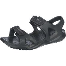 CROCS Swiftwater River Sandal Komfort-Sandalen schwarz Herren