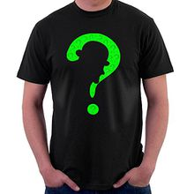 Riddler Point Batman Men's T-Shirt