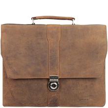 Harold's Antik Aktentasche Leder 40 cm Laptopfach