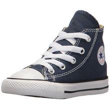 Converse Chuck Taylor All Star, Unisex-Kinder Hohe Sneakers, Blau (Navy), 35 EU