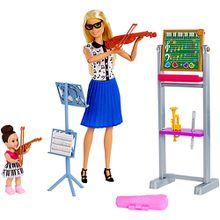 Barbie Musiklehrerin-Puppe (blond) und Spielset