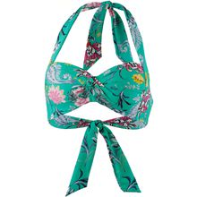 Seafolly Bikini Oberteil Water Garden Bikini-Oberteile grün Damen