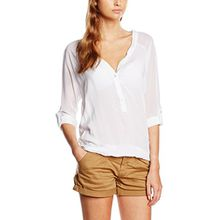 Sublevel Damen Bluse D7187U10453A4, Gr. 40 (Herstellergröße: L), Weiß (White 22000)