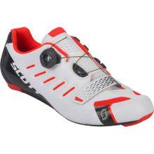 Scott - Road Team Boa Herren Rennradschuh (weiß/rot) - EU 44 - US 10