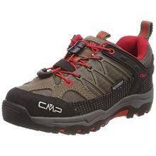CMP Unisex-Kinder Rigel Trekking-& Wanderhalbschuhe, Beige (Tortora-Ferrari), 35 EU