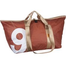 360Grad Reisetasche Schlepper XL Zahl Weiß