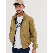 Polo Ralph Lauren - Baracuda - Hellbraune Harrington-Jacke aus Baumwolle mit Polospieler-Logo - Bronze