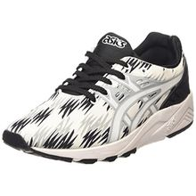Asics Gel-Kayano Trainer Evo, Unisex-Erwachsene Sneakers, Schwarz (Black/White 9001), 43.5 EU