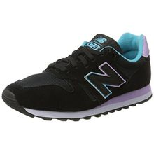 New Balance Damen 373 Modern Classics Sneaker, Schwarz (Black), 37.5 EU
