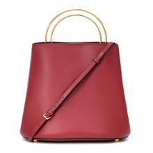 Bucket-Bag Pannier aus Leder