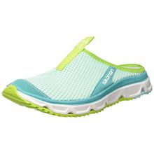 Salomon Damen RX Slide 3.0 Halbschuhe, Blau (Aruba Blue/White/Lime Green), Gr. 41 1/3