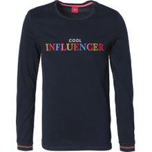 S.Oliver RED LABEL Shirt blau / navy / gelb / rot / weiß